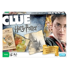Clue Harry Potter Game