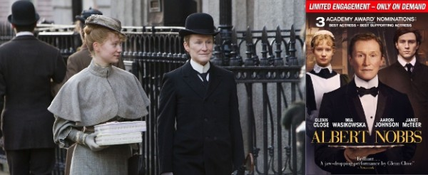 Lionsgate Sneak Peeks Oscar® Nominated ALBERT NOBBS On Demand