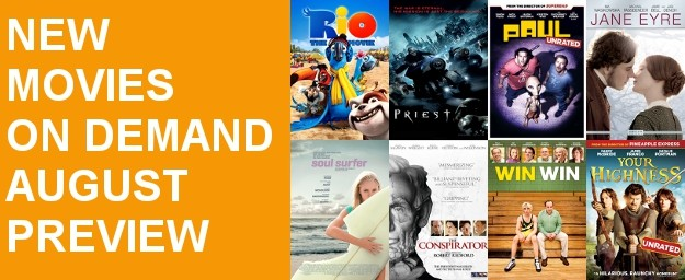 Movies On Demand - August Preview