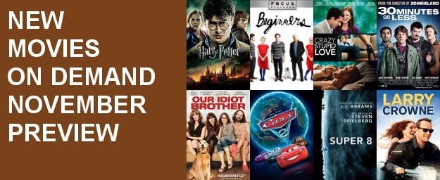 Movies On Demand - November Preview