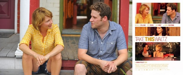 See TAKE THIS WALTZ (Michelle Williams and Seth Rogen) Trailer