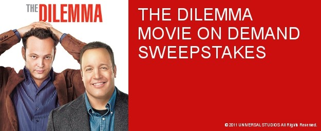 Celebrate THE DILEMMA On Demand With An On Demand Weekly Sweepstakes