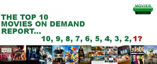 What  Is The #1 Movie On Demand: CONTRABAND Or MISSION: IMPOSSIBLE – GHOST PROTOCOL?