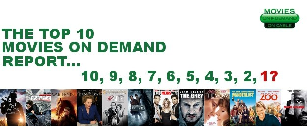 ZERO DARK THIRTY ELIMINATES LIFE OF PI AND IS THE NEW #1 MOVIE ON DEMAND